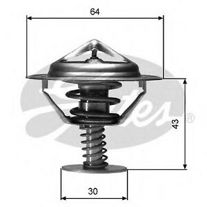 FOR NISSAN NP300 2.5DCI 4WD 133HP -16 NEW GATES THERMOSTAT