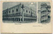 1900 Venezia Palazzo Ducale Scala Minelli Digne Castelleone Cremona FP B/N VG