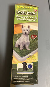 Potty Patch Small Replacement Turf pets under 15lbs - Indoor dog litter box New