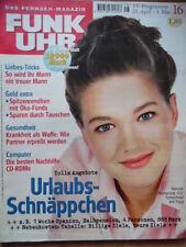 FUNK UHR 16 - 1998 ** TV: 25.4.-1.5. Hannah Herzsprung Christina Plate
