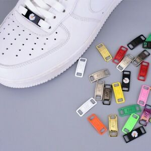 AF1 REPLACEMENT LACE LOCKS METAL CUSTOM AF1 TAGS LOCK AIR FORCE ONE S LACE LOCK