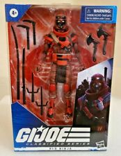 GI Joe Classified Series Red Ninja 6 Inch Figure Hasbro