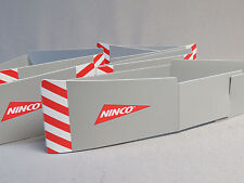 NINCO SLOTCAR UNKNOWN BORDERS? 4 pcs/sections slot car New Old Stock Lot N4P