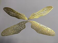 Dragonfly Brass Wing Filigree 1 set - Stained Glass Lamp Supplies