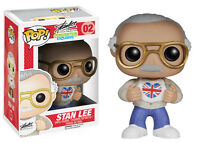 MARVEL   STAN LEE FUNKO POP VINYL FIGURE UK LONDON FILM COMIC CON EXCLUSIVE 2014