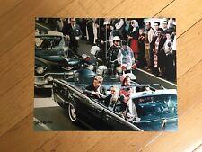 HISTORIC SIGNED 8x10 President John Kennedy Assassination-11/22/63 Clint Hill #3
