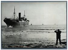 "Espagne, Cargo espagnol ""Nano""  Vintage silver print Tirage argentique  13x1"