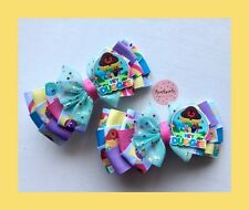 Girls/toddler Handmade Hey Duggee  Large Hair Bow Clip