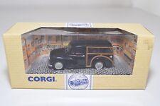 * CORGI TOYS 96873 MORRIS MINOR TRAVELLER BLACK MINT BOXED