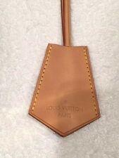 LOUIS VUITTON NATURAL COWHIDE LEATHER CLOCHETTE NECKLACE - BNWOT!!!