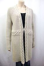 Grobe Damen-Strickjacken aus Wollmischung ohne Muster