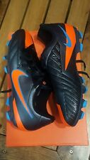New Nike 472567-084 T90 Shoot IV FG Black Kids Football Cleats Size 4y US