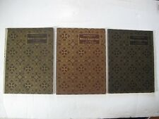 French Embroidery Patterns - MOTIFS de BRODERIE COPTE - D.M.C. Library (3 Vols.)