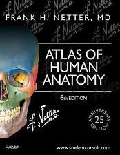 ATLAS OF HUMAN ANATOMY [9781455704187] - FRANK H. NETTER (PAPERBACK) NEW