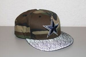 New Era Dallas Cowboys Football NFL Camouflage Reflective Bill Size Medium Large