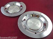 BSA Motorsports Wheels Chrome Custom Wheel Center Caps Set of 2 # C321-20