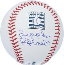 Brooks Robinson Baltimore Orioles Autographed Hall of Fame Logo Baseball