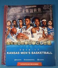 Kansas JAYHAWKS 2016-2017 KU Basketball Media Guide - Self, Jackson, Mason