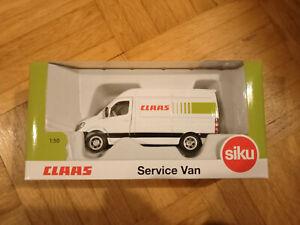 Siku Super 1:50 Claas Service Van