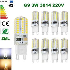 3W G9 led bulb 220V 64leds Capsule light Corn bulbs Replace Halogen lamp SMD3014