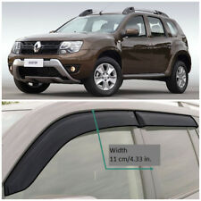 RE12711 Window Visors Vent Wide Deflectors For Renault/Dacia Duster 2011-