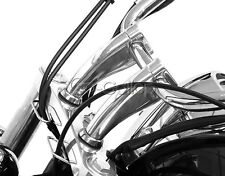 """5"""" Chrome 1"""" Handlebar Riser Fit Honda Shadow Spirit Aero VT750 VTX 1300 1800 C"""