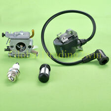 Carburetor & Ignition Coil For Stihl 020 020T MS200 MS200T MS 200T Chainsaw