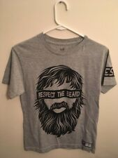 Daniel Bryan Respect The Beard WWE Authentic Shirt Mens Small Pro Wrestling Used