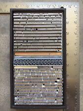 Large Lot Letterpress Type Bembo 10pt Amp 12pt Caps Figs