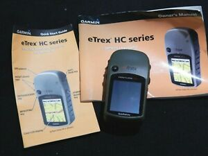 Garmin ETrex HC Series  Personal Navigation Hiking Hunting Map Geocaching