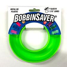 "Grabbit Bobbinsaver For 1"" M Size Bobbins, Lime Green Bobbin Holder"