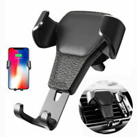 Gravity Car Air Vent Mount Cradle Holder Stand For iPhone Cell Phone Mobile R8X2