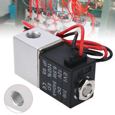 """Solenoid Valve DC 12V 1/8"""" Normally Closed Electric for Water Air US Seller"""