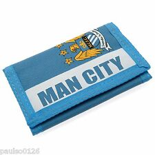 Manchester City Football Club Official Money Wallet with Crest ( Focus )