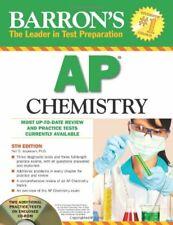 Barron s AP Chemistry  Barron s  The Leader in Test Preparation