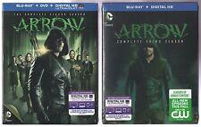 The CW's ARROW DOUBLESHOT: Complete Second Season Blu-ray/DVD + Third Season Blu