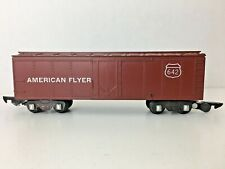 "*AMERICAN FLYER 642* ""BOX CAR"""