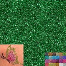 40 gramme PAILLETTE Vert PEINTURE AUTO MOTO Nail Art MAISON Décoration Scrap