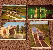 Lift Locks Peterborough, Ontario Canada - 4 Postcards - Unposted - No Writing