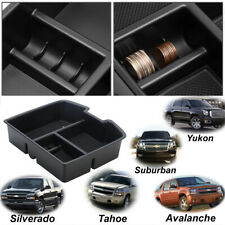 Center Console Organizer Storage Box For Chevrolet Avalanche GMC Yukon 2007-2014