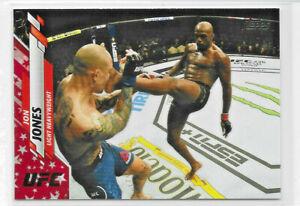 """2020 TOPPS UFC INDEPENDENCE DAY JON """"BONES"""" JONES PARALLEL 27/76 SSP"""