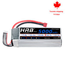 HRB 18.5V 5000mAh 5S Lipo Battery 50C-100C Deans for RC Helicopter Car Buggy