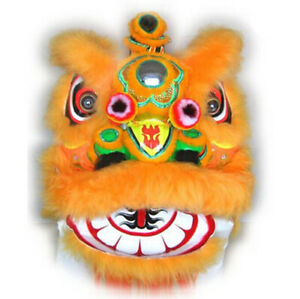 Lion Dance Costume Northern Style Mascot Head Long Fur Event Party Outfit 2020
