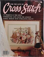 Leisure Arts For The Love Of Cross Stitch Magazine Premier Issue Used       1271