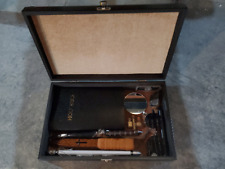 Vampire Hunter/Slayer Kit Engraved Wood Case Dagger Candle Scroll Flint Steel