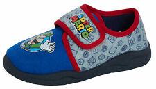 Boys Super Mario Slippers Kids Easy Fasten Nintendo Slipper Boots House Shoes