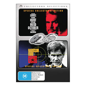 The Hunt for Red October / Patriot Games DVD Brand New Region 4 - Free Post