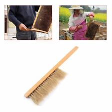 "New 16"" Natural Horse Hair Bee Hive Brush, Beekeeper Tool, Beekeeping Equipment"