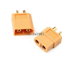 10PCS 5Pairs XT60 Male & Female Bullet Connectors Plugs For RC LiPo Battery