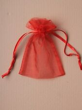12 Organza Gift Bags Jewellery Candy Packing Pouches Wedding Party Favour